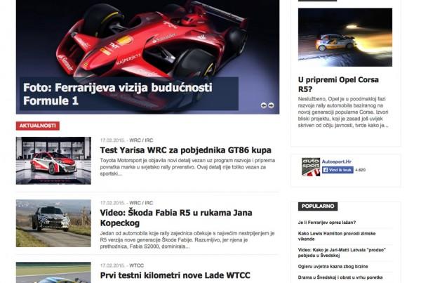 Autosport.hr---naslovnica